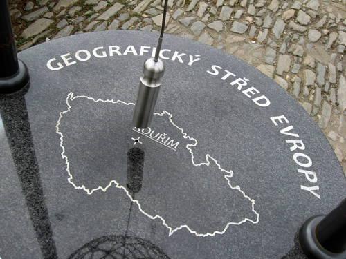 Geografický střed Evropy....